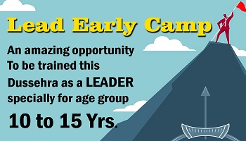 LEAD EARLY - DUSSEHRA CAMP