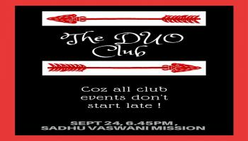 Weekend Delight The D-U-O Club by Bridge Builders on Sunday 24, 2017