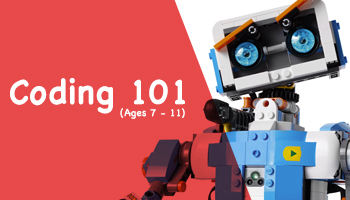 Coding 101 for kids (Ages 7-11)
