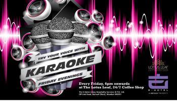 Karaoke Friday Evening At The E-Hotel