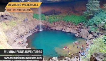 Devkund waterfall Mumbai Pune Adventures 29th October 2017