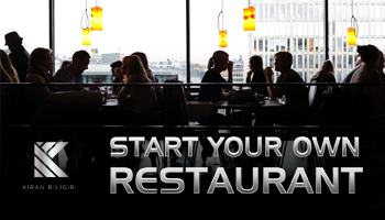 Start Your Own Restaurant by Award Winning Restaurateur Kiran Biligiri