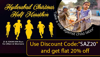 Hyderabad Christmas Half Marathon