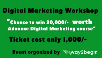 one day digital marketing workshop at vizag