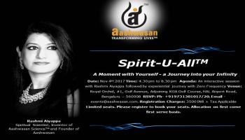 Spirit-U-All(TM) A Moment with Yourself - a Journey into your Infinity