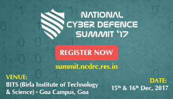 National Cyber Defence Summit 2017 - VII Edition