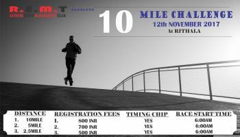 10 MILE CHALLENGE