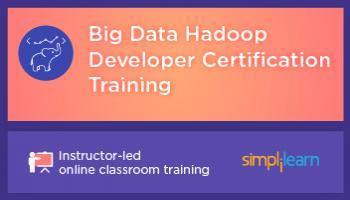 Big Data Hadoop Developer Certification Training in Bangalore   Online Classroom Program