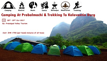 Prabalmachi Camping and  Trek To Kalavantin Durg Stairways to Heavenon