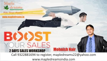 BOOST YOUR SALES - Mohnish Nair