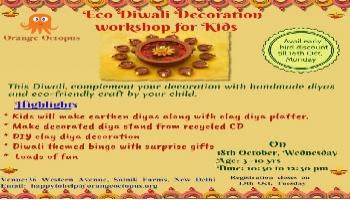 Eco Diwali Decoration Workshop For Kids