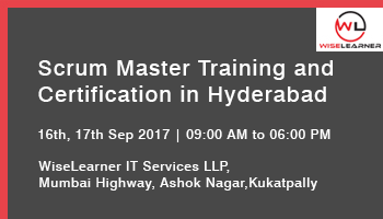 Scrum Master Training and Certification in Hyderabad with best trainer