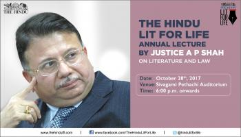 The Hindu Lit for Life Annual Lecture
