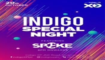 Indigo Special Night with DJ Spyke