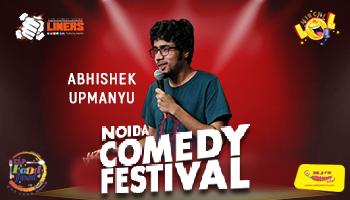 Punchliners Mirchi LOL Noida Comedy Festival feat Abhishek Upmanyu and Nishant Suri