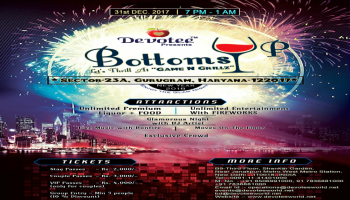 Bottoms Up New Year Bash 2018