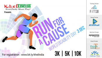RUN FOR A CAUSE -WORLD DISABILITY DAY