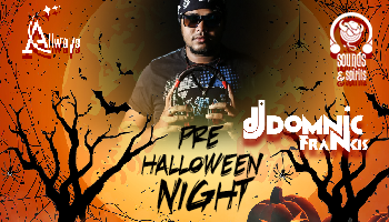 Pre-Halloween Night With Dj Domnic At Sounds And Spirits