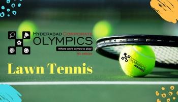 7th Hyderabad Corporate Olympics - Lawn Tennis