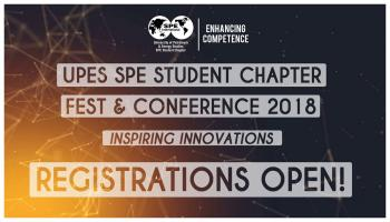 UPES SPE Fest 2018 - International Registration