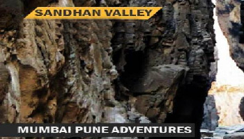 Sandhan Valley Camping Mumbai Pune Adventures 25-26 Nov 2017
