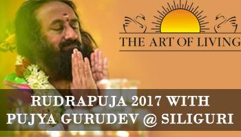 Rudrapuja 2017 with Pujya Gurudev at Siliguri