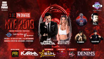 New Year Party 2018 with Dj Akhil Talreja