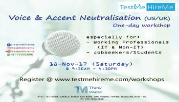Voice and Accent Neutralisation (US/UK) - A one-day workshop