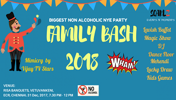 Non Alcoholic Family NYE Party 2018
