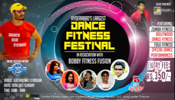 Largest Dance Fitness Festival 2017 Hyderabad