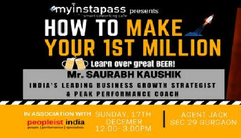 How to make your 1st Million by Saurabh Kaushik