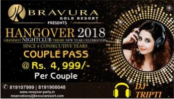 GRANDEST NEW YEAR CELEBRATION (HANGOVER - 2018)