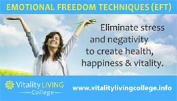 EFT (EMOTIONAL FREEDOM TECHNIQUES) Training Mumbai January 2018 with Vitality Living College Accredited Trainer, Leena Haldar