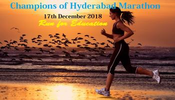 Champions of Hyderabad Marathon
