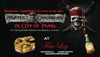 PIRATES of the CARIBBEAN  @ FINE LEG, SIESTA HITECH
