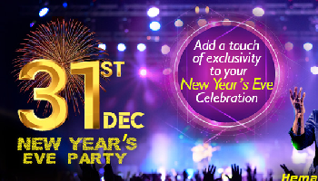 Star Studded New Year Party 2018 at Limelight Garden