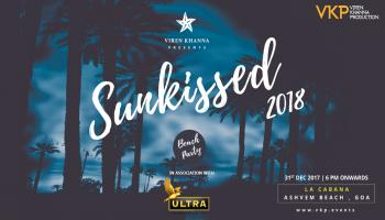 SUNKISSED NYE 18 - GOA BEACH PARTY