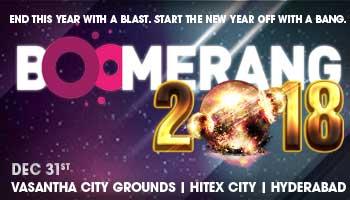 Boomerang New Year Eve 2018