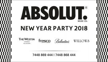 ABSOLUT NEW YEAR 2018