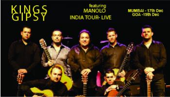 Gipsy kings featuring Manolo India tour live in Mumbai