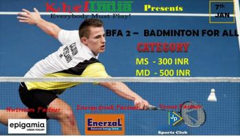 BFA 2 - BADMINTON FOR ALL