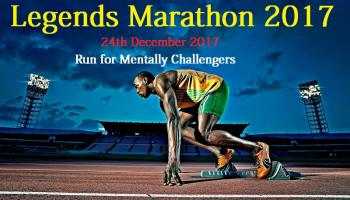 Legends Marathon - Run For A Cause 2017