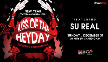 Kiss Of The Heyday New Year XXXtravaganza