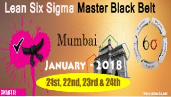 Lean Six Sigma Master Black Belt Training and Certification in Mumbai