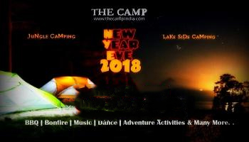 New Year duo Camping in hidden jungle or Lake side camping