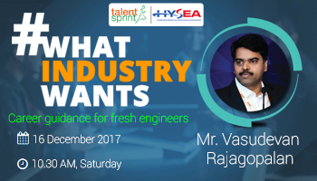 Career Guidance for Fresh Engineers by Vasudevan Rajagopalan