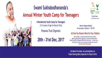 Annual Winter Youth Camp for Teenagers