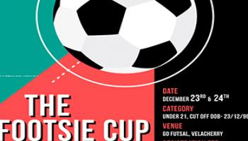 The Footsie Cup - Under 21 Football Tournament