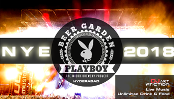 NYE 2018 @ PLAYBOY BEER GARDEN