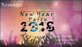 Kriyates New Year Party